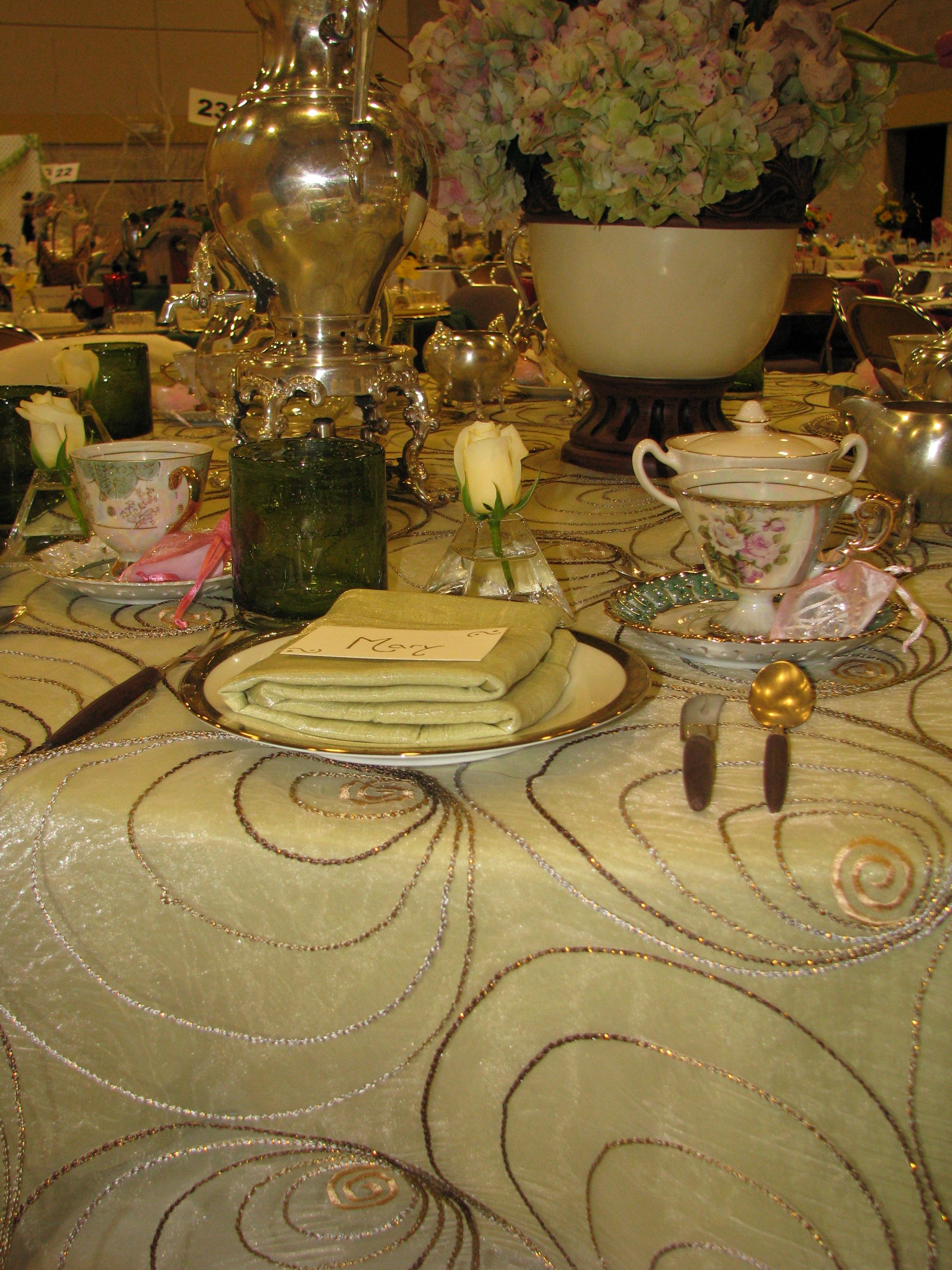 Spring Tea & Fashion Show